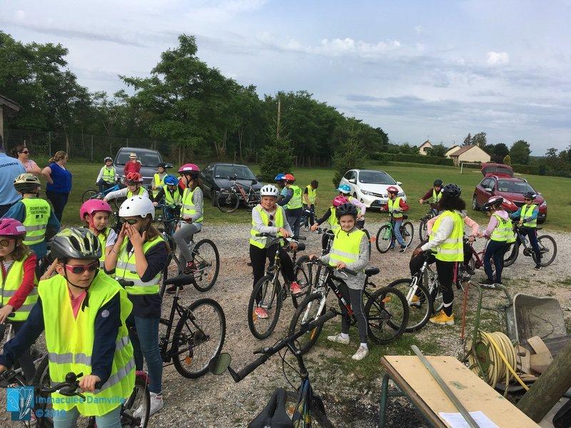 Sortie vélo à Chambray