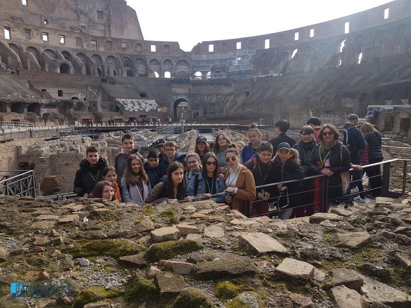 Voyage des 4e à Rome – Jour 2